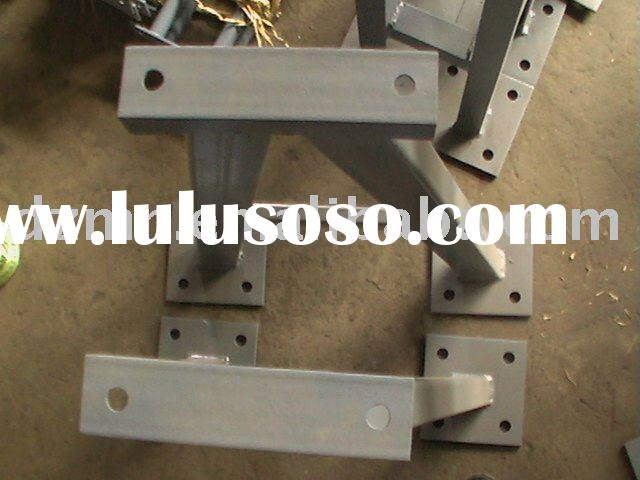 Components on Tracking Frame of Parabolic Trough Solar Collector