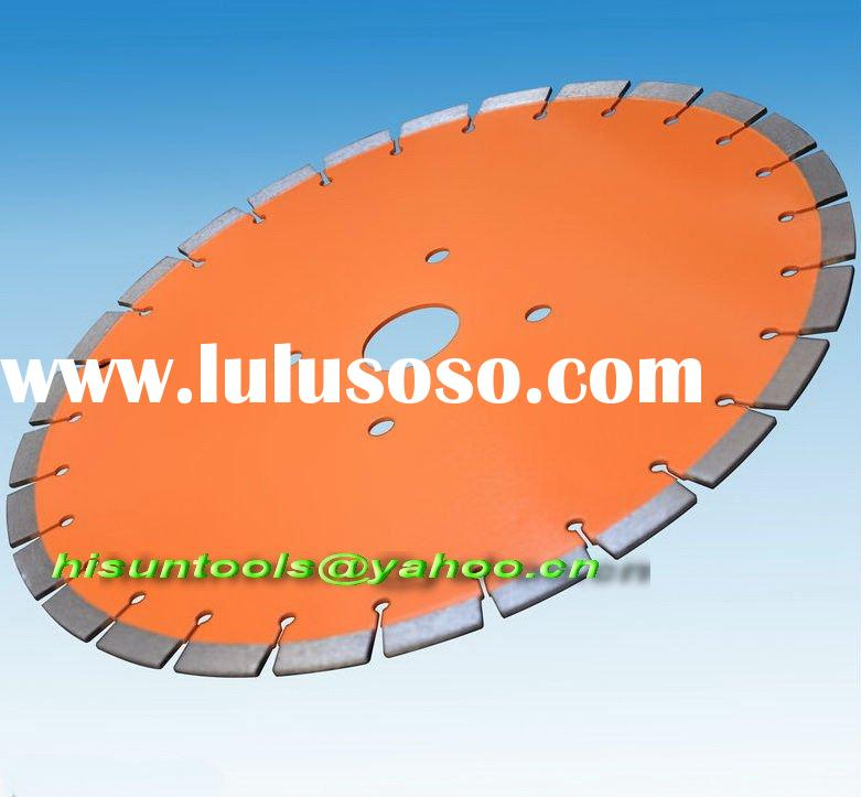 Copper brazed Circular saw cutting blade for concrete and asphalt