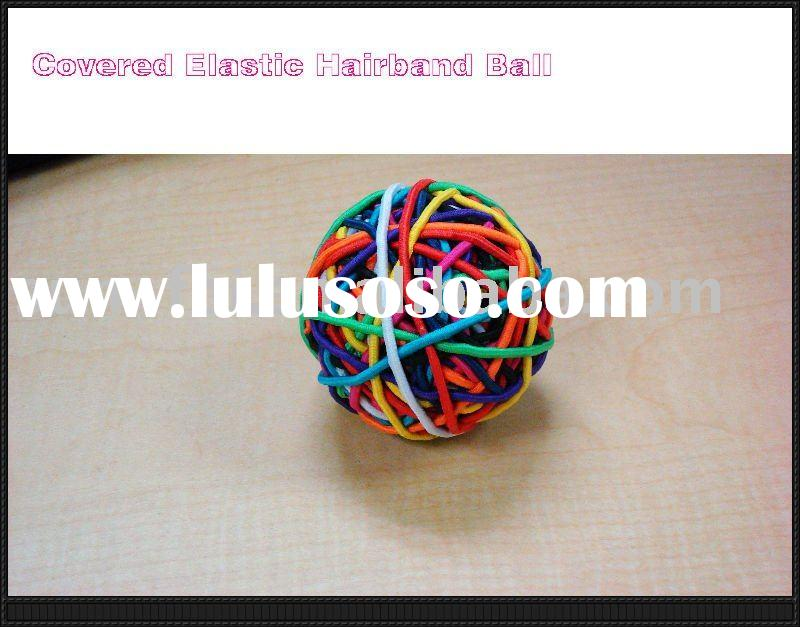 Covered Rubber Band Ball