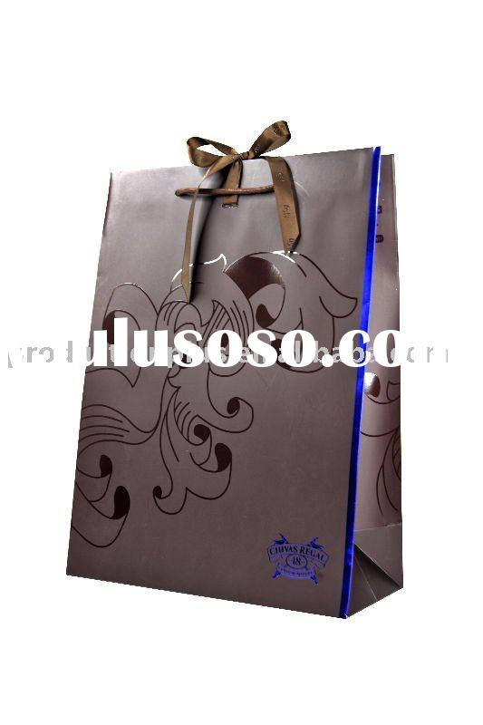 Creative Paper Gift Bag with ribbon
