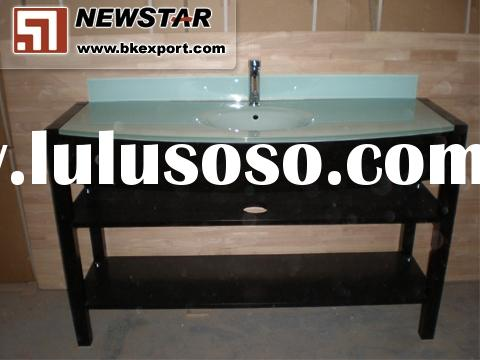Customized Design Hotel Bathroom Vanity,Bathroom Cabinet for American Hotel Project Use (Hot Sell)