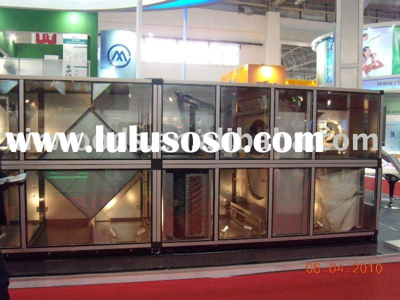 Customized air handling system with heat recovery wheel