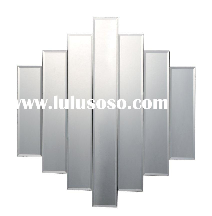 Decorative Wall Mirror Livingroom Bevelled Frameless Mirror--jessie