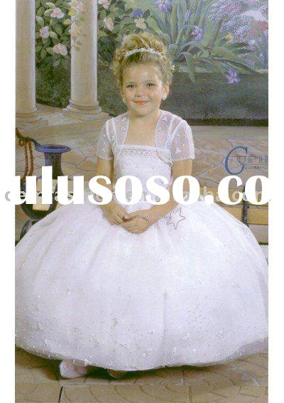 Designer Flower Girl Dress HL-CN542