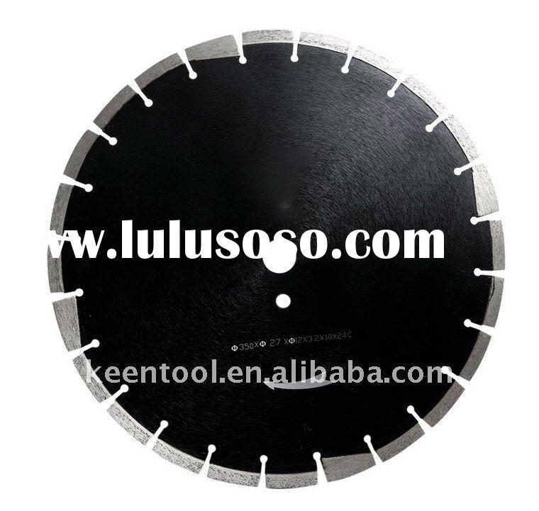 Diamond circular saw blade for granite or concrete cutting