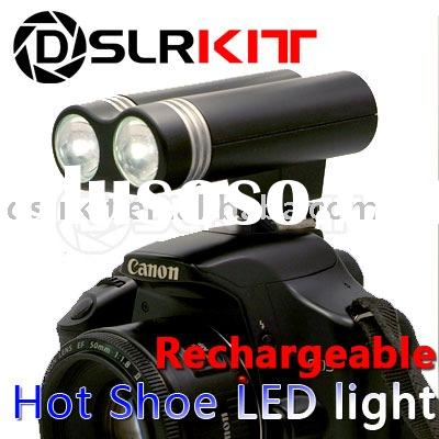Digital Camera Video Shooting HOT SHOE LED Light Lamp