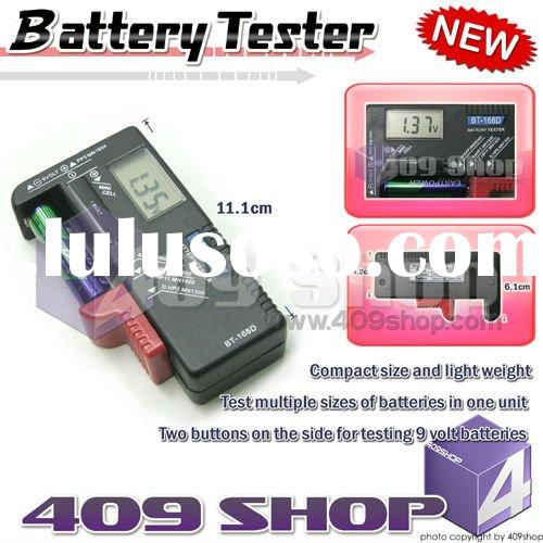 Digital Testers for AA/AAA/C/D/9V Button Cell Battery