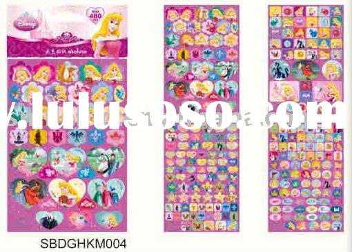 Disney Princess Sticker Book (for Disney licensee only)