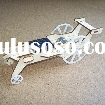 Diy Plywood Solar Car (DIY Accessory Parts),original design