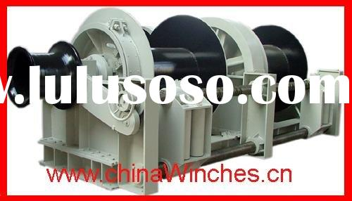 Double Drum Electric Marine Winch and Mooring Winch