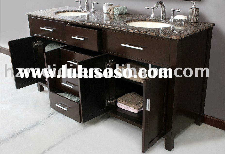 cathy espresso double sink bathroom vanity, cathy espresso double ...