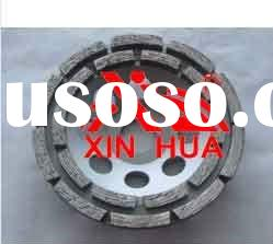 Double row diamond cup wheel high quality
