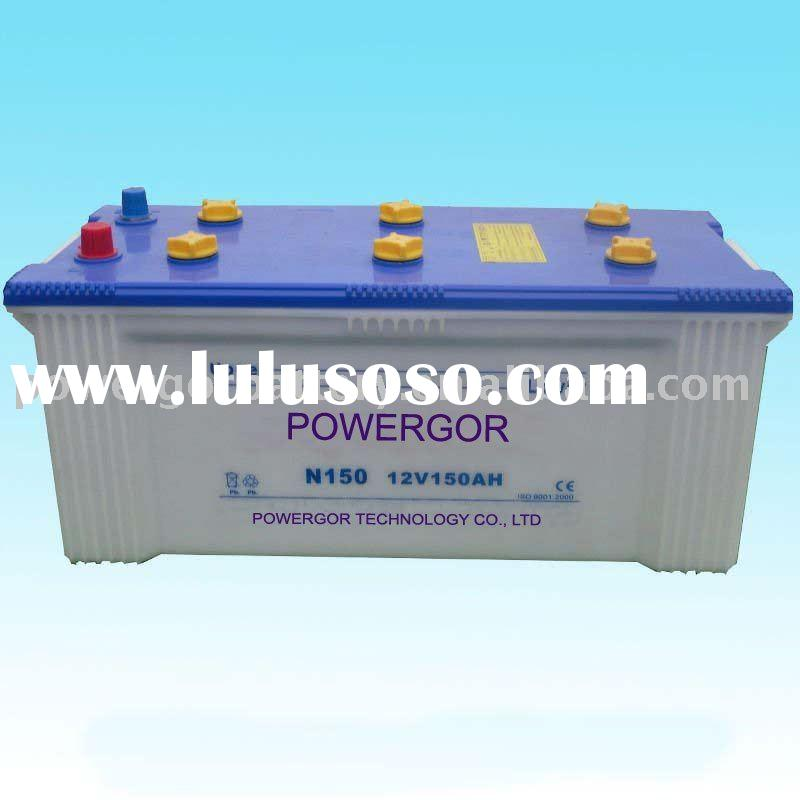Dry Charged Car battery 145G51(N150)