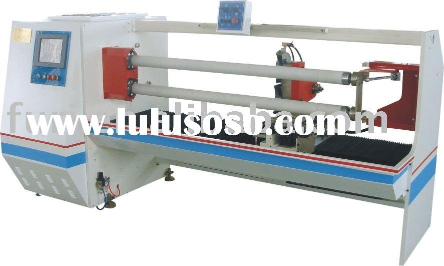 Duct tape cutting machine /cutting machine /stretch film cutting machine /pet film slitting machine