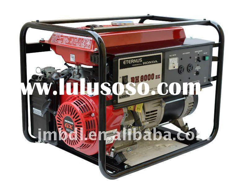 ELEMAX style gasoline generator set with Honda engine BH8000DX