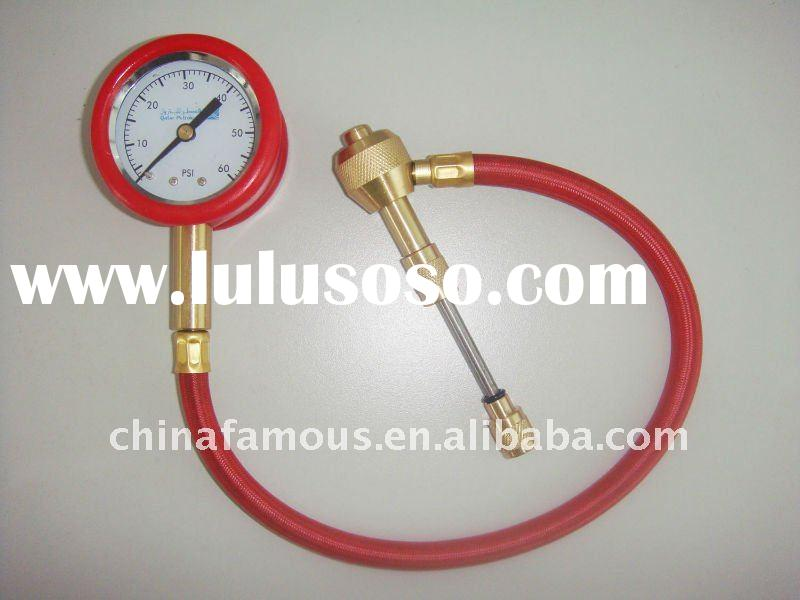 E-Z Tire Pressure Gauge with Tire Inflator and Deflator - For Rapid Type Deflation