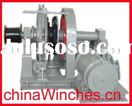 Electric Anchor Marine Windlass with Gypsy and Warping Head Winch