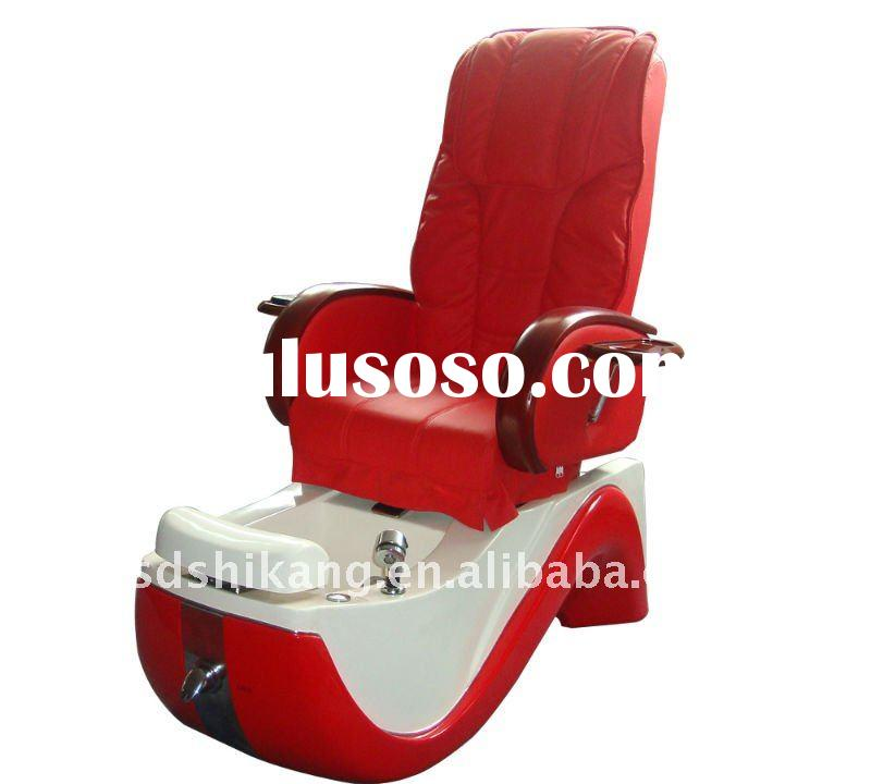 Electric pipeless Salon pedicure spa chair (SK-331.red)