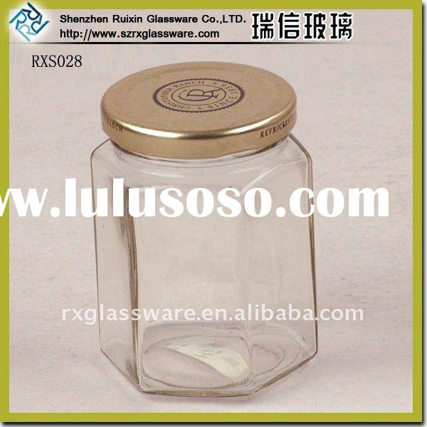 Exquisite Seal Square Glass Food Jar With Clip Lid
