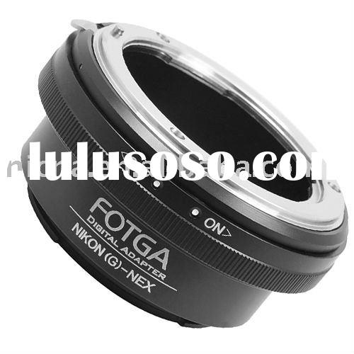 FOTGA Adapter Ring For Nikon G Lens to Sony NEX-3 NEX-5 E Mount Adapter Ring brass wholesale oem