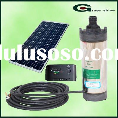 Factory New Design Flow 600Lift one hour solar water pumps manufacturer