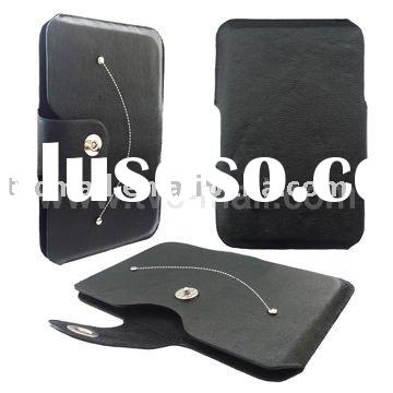 Fancy Smile Design with Magnet Leather Cover for Samsung Galaxy Tab P1000 (GT-P1000)