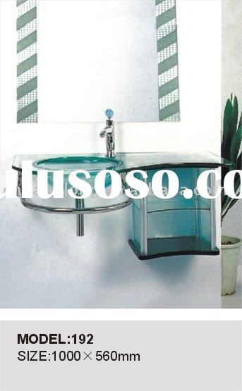 Fashion Bathroom glass basin, glass sink, glass bowl, glass vanity