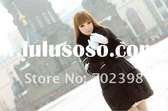 Fashion Fur jackets ,Fur Coats , Ladies outerwear , with Racoon collar