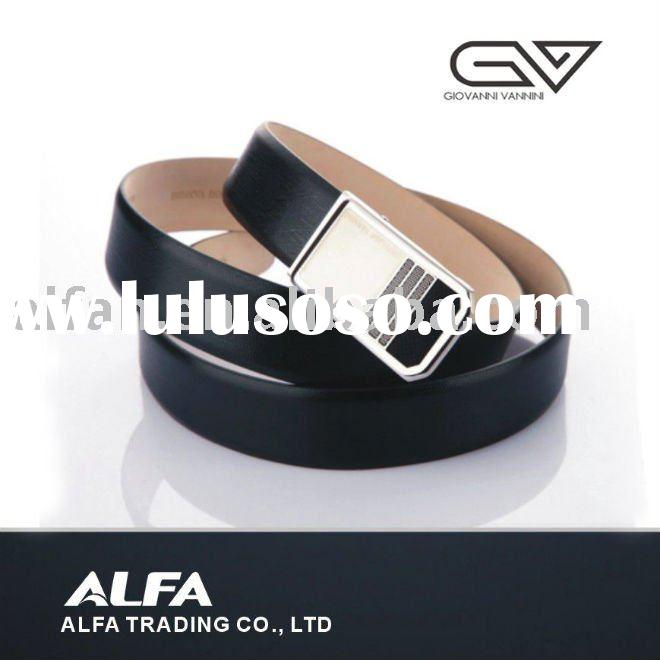 Fashion Real Leather Belts For Man With Stainless Steel Buckle