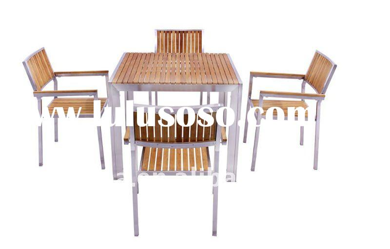 Fashion teak furniture table and chair set