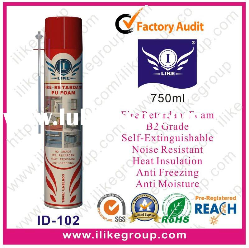 Fire Retardant PU Foam Spray