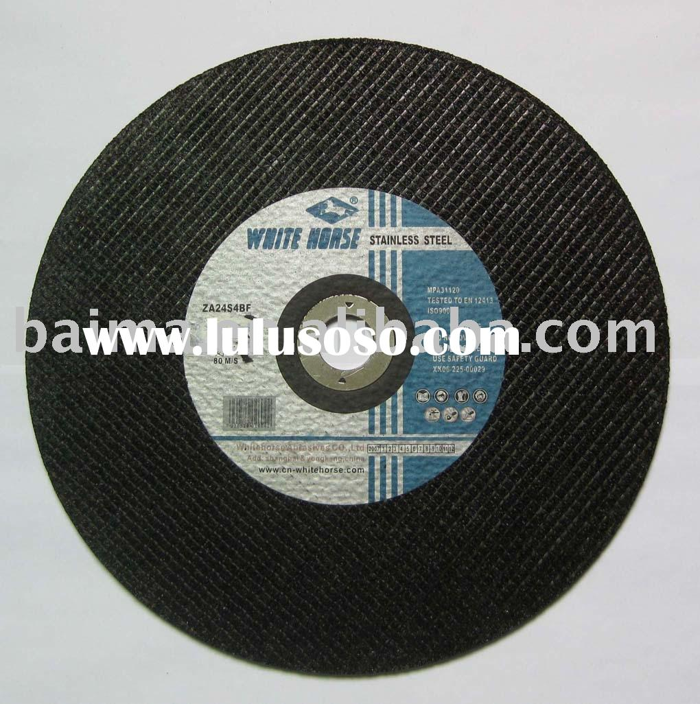 Flat Cutting Disc, Cut Off Wheel For Stainless Steel