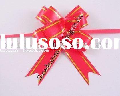 Flower Pull Bows ribbon for wedding decoration