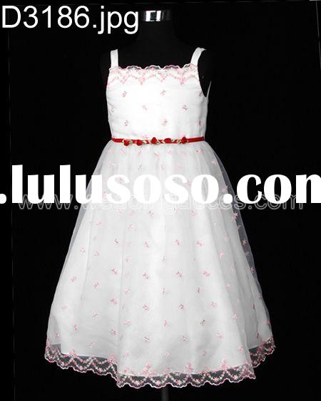 Flower girl dress Party dress Wedding dress Children dress/Girl dress