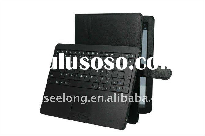 For Moto Xoom 10.1 Tab Detachable Wireless Bluetooth Keyboard Case Touchpad Mouse Combos
