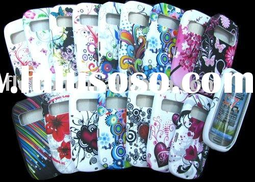 For Nokia C7 Paint Flower Back Cover Tpu Case