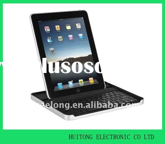 For iPad 2 Aluminum Case Bluetooth Keyboard With Stand