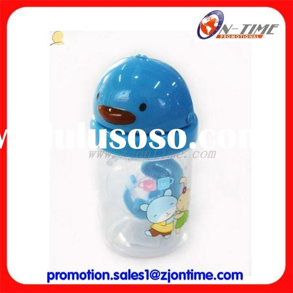 Funny shape plastic bottle for baby/Animal shape baby bottle