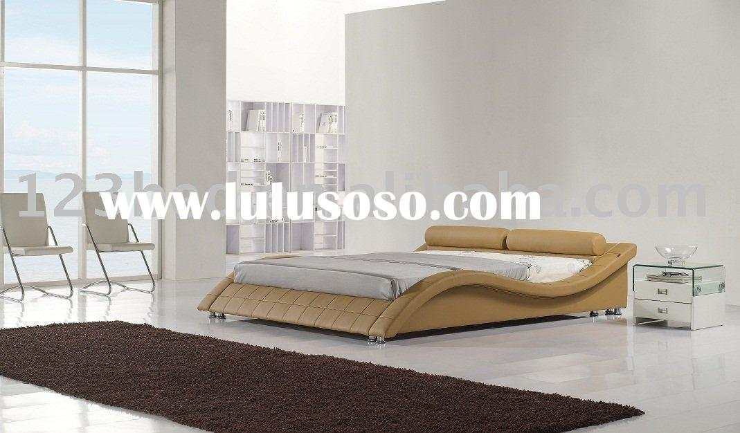 Furniture Leather bed Genuine Leather bed Leather Furniture Genuine Leather Furniture soft bed Genui