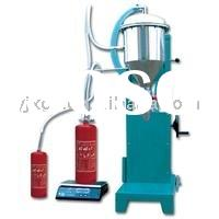 GFM-1 Accuracy fire extinguisher powder filling equipment/powder refilling equipment (Pollution-free