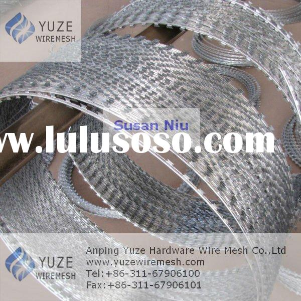 Galvanized/Stainless Steel Concertina Razor Wire