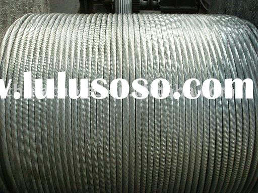 Galvanized Steel Cable / Steel Wire Strands