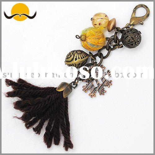 Garment Accessories fashion beaded & tassel pendant