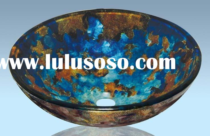 Glass Sink,Glass Basin,Glass Bowl,Glass Vessel Sink,Glass Vanity Sink,Bathroom Sinks