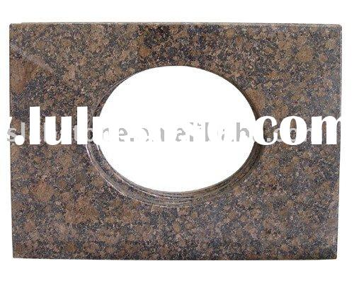 Granite vanity tops for bathroom- baltic brown