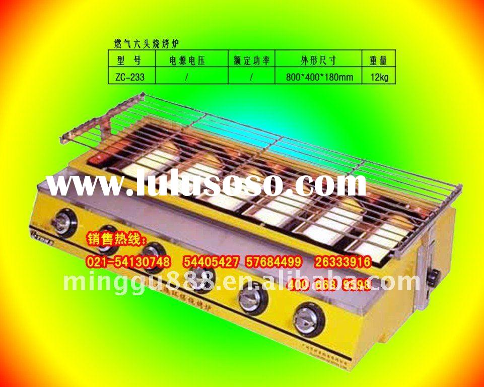 Grilled chicken machine(CE&ISO Approval ,manufacturer)