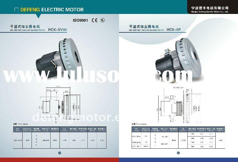 HCX-SV30 Dry and Wet Vacuum Cleaner Motor