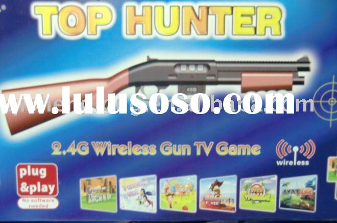HD-042 Top Hunter, Virtual Reality Gun Shooter, Incredible Game Play like Online PC Game, 2.4GHz wir