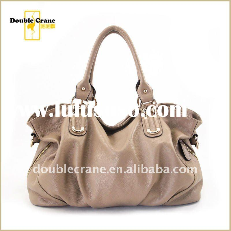 HOT 2012 Spring/Summer ladies fashion Real leather bags