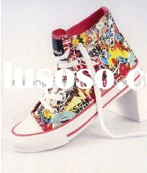 HOT SELLING HIGH TOP DISNEY CANVAS SHOES
